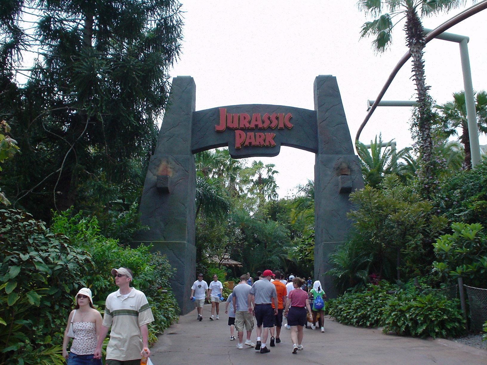 Jurasic Park Universal Studios Florida